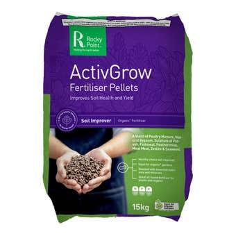 Rocky Point ActivGrow Fertiliser Pellets 15kg