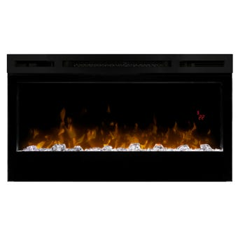Dimplex Prism Wall Mounted Electric Fireplace 870mm