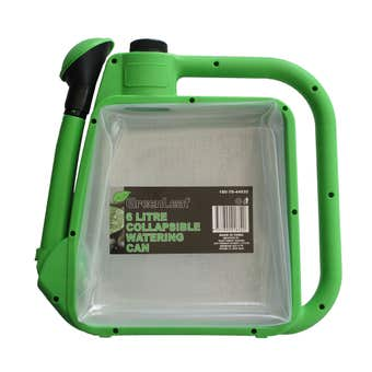 Greenleaf Collapsible Watering Can Green 6L