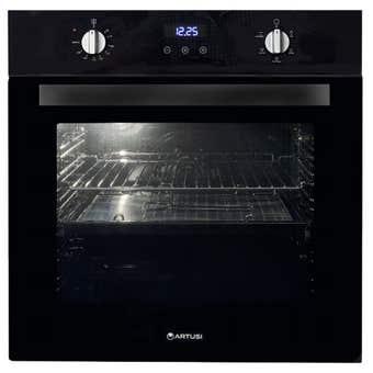 Artusi Electric Oven Black 600mm