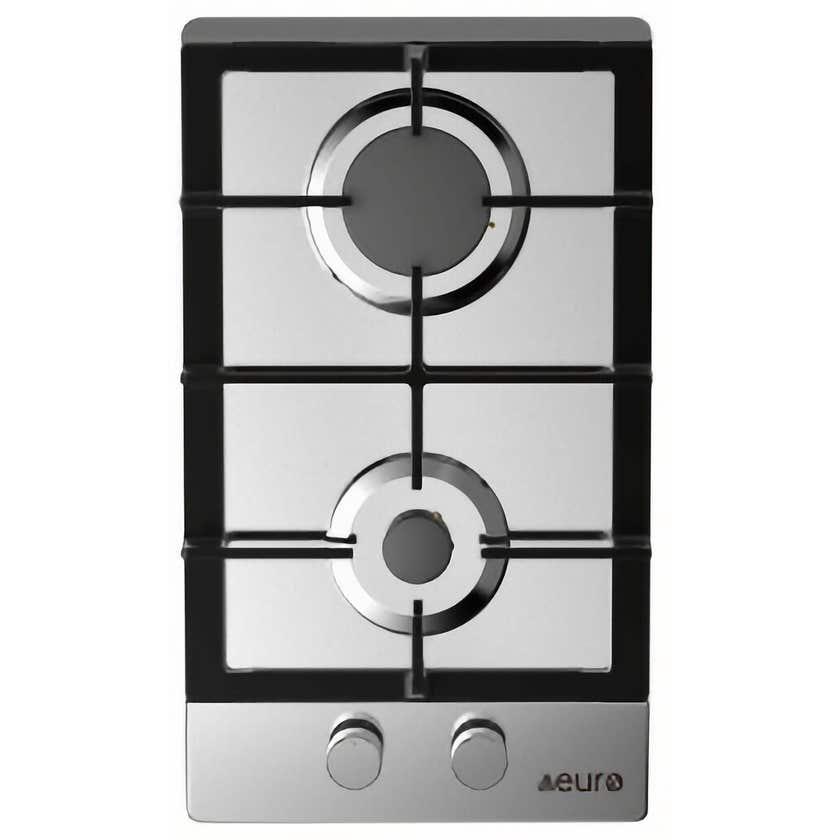 Euro Appliances Gas Cooktop 2 Burner 300mm