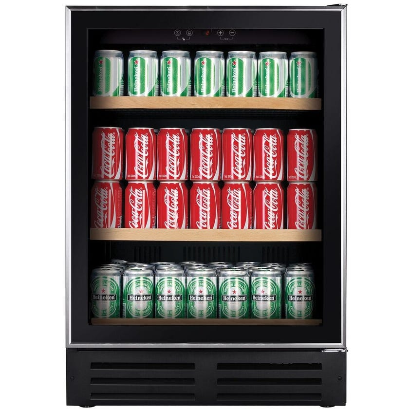 Lemair Beverage Fridge Black 145L