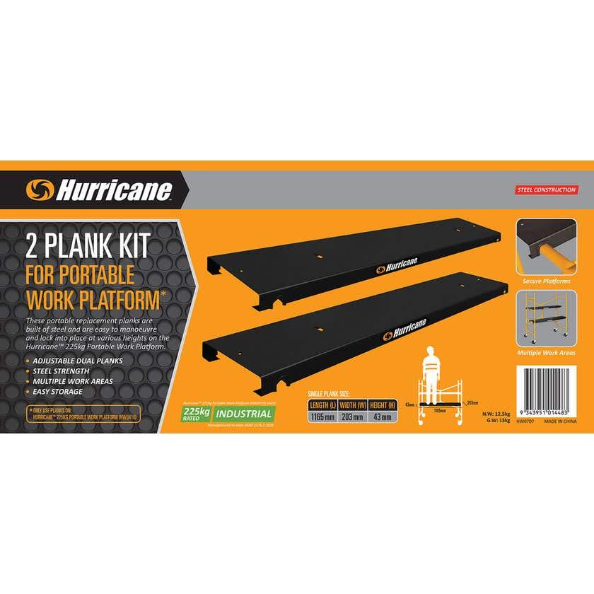 Hurricane Portable Platform 2 Plank Kit