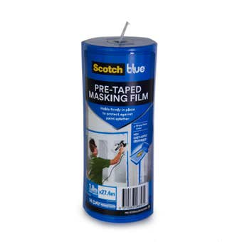 ScotchBlue Pre Taped Masking Film Canister 1.8 x 27.4m