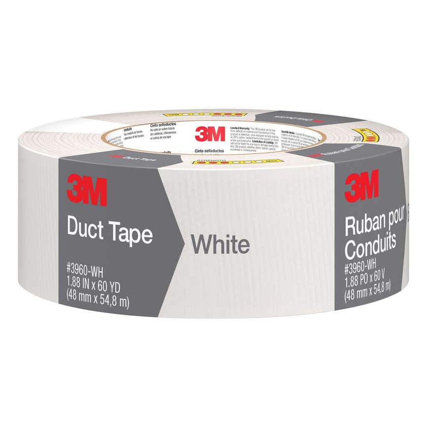 3M Duct Tape White 48mm x 54.8m