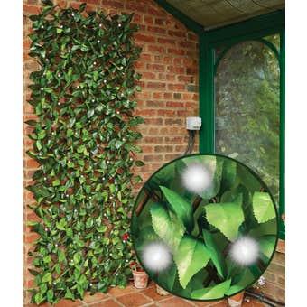 Gardman Solar Boxwood Trellis with LED 180 x 90cm