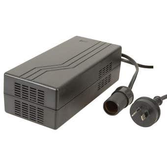 Brass Monkey Main Adaptor with Cigarette Lighter Output 12V DC 12.5Amp