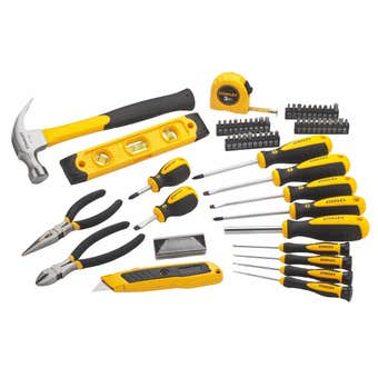 Stanley Tool Set with Case - 62 Piece
