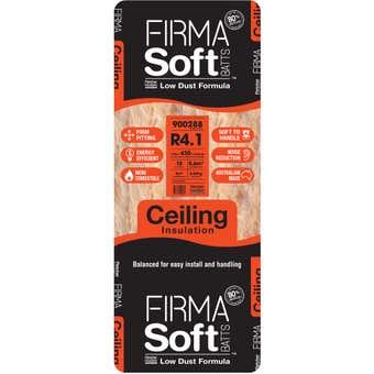 FirmaSoft R4.1 Ceiling Insulation Batt L1160 x D195mm - 10 Pack