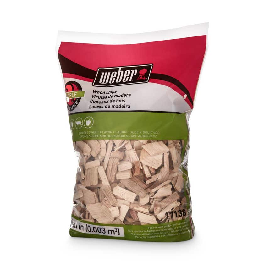 Weber Apple Wood Chips 900g
