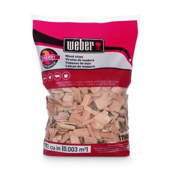 Weber Cherry Wood Chips 900g
