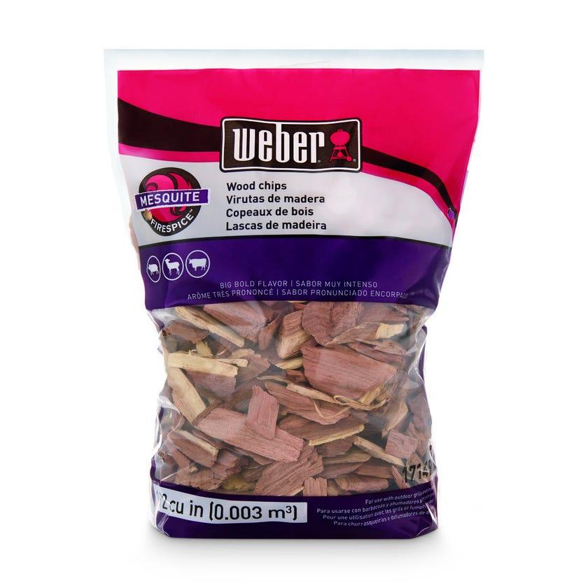 Weber Mesquite Wood Chips 900g