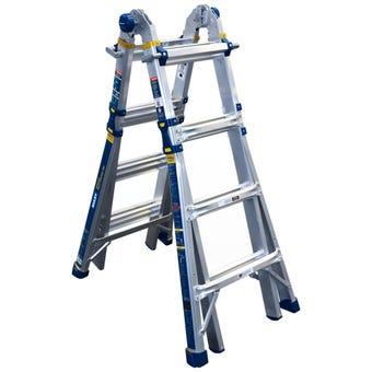 Bailey Hercules MT18 Multipurpose Ladder 150kg Industrial