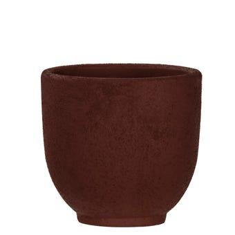 Orson Pot Burgundy 15cm