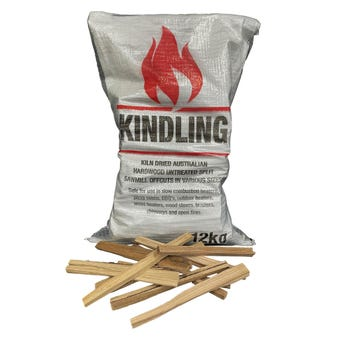 Mixed Hardwood Kindling Bag 12KG