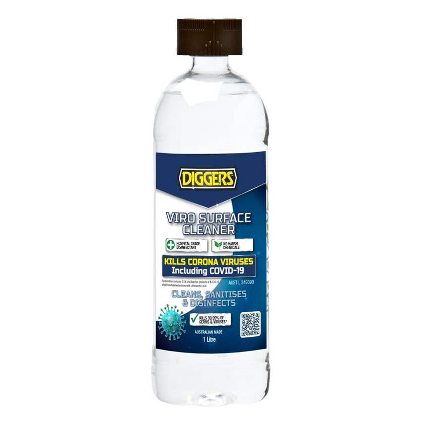 Diggers Viro Surface Cleaner Disinfectant 1L