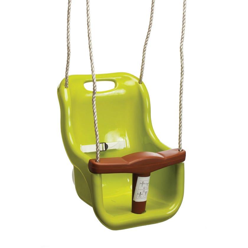 Swing Slide Climb Baby Seat Swing Green