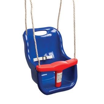 Swing Slide Climb Baby Seat Swing Blue