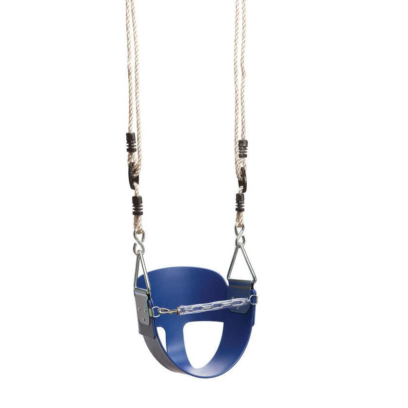 Swing Slide Climb Toddler Seat Blue