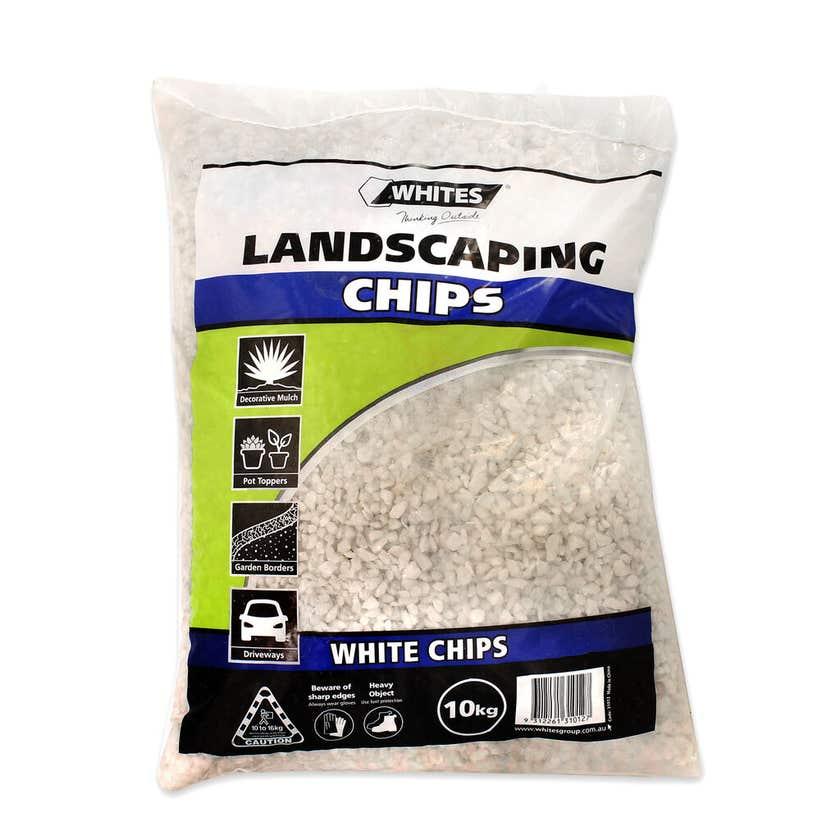 Whites Landscaping Chips White 10kg