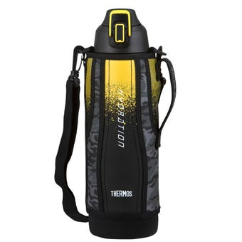 Thermos Stainless Steel Vacuum Insulated Sports Bottle with Pouch 1.5L