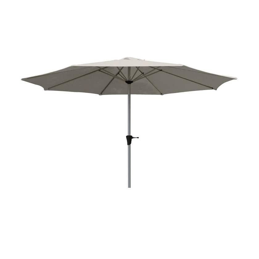 Coolaroo Daintree Market Umbrella 3m Cool Grey