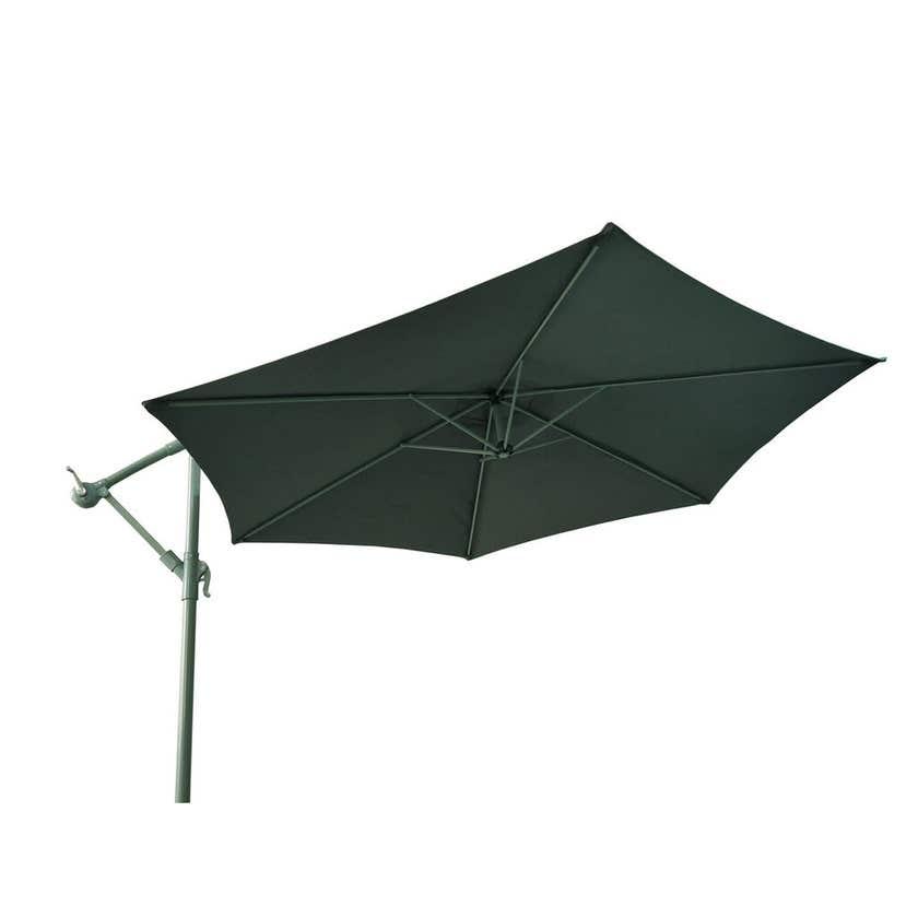Steel Cantilever Umbrella Charcoal 2.85m