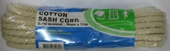 Cord sash cotton 8mmx10m hank