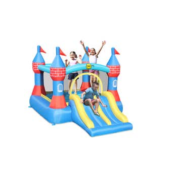 Happy Hop Inflatable Bounce Castle with Double Slide