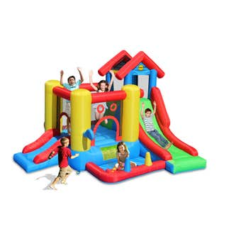 Happy Hop 7-In-1 Inflatable Playhouse
