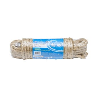 Rope sisal 8mmx10m hank