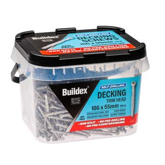 Buildex Self Drilling Decking Screw 10G x 55mm - Box of 500