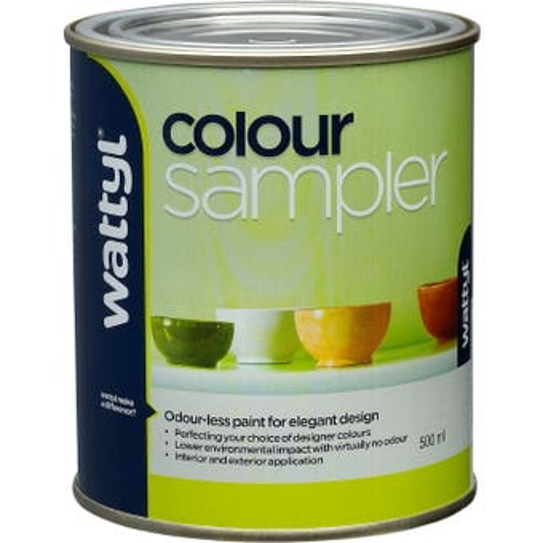 Wattyl colour sampler atb 500ml