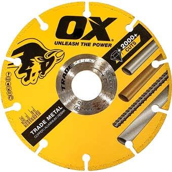 OX Plus Trade Series Metal Blade 125mm