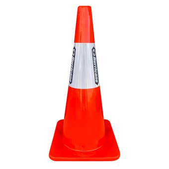 Hurricane Safety Traffic Cone with Reflective Tape 700mm