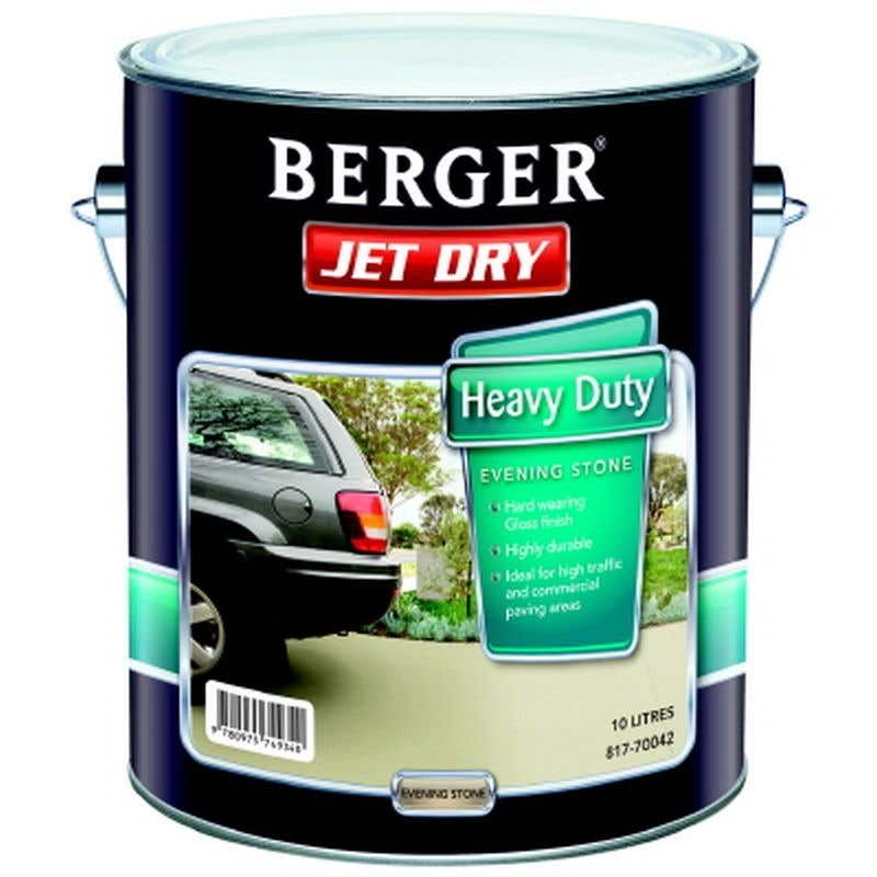 Berger Jet Dry 10L Evening Stone