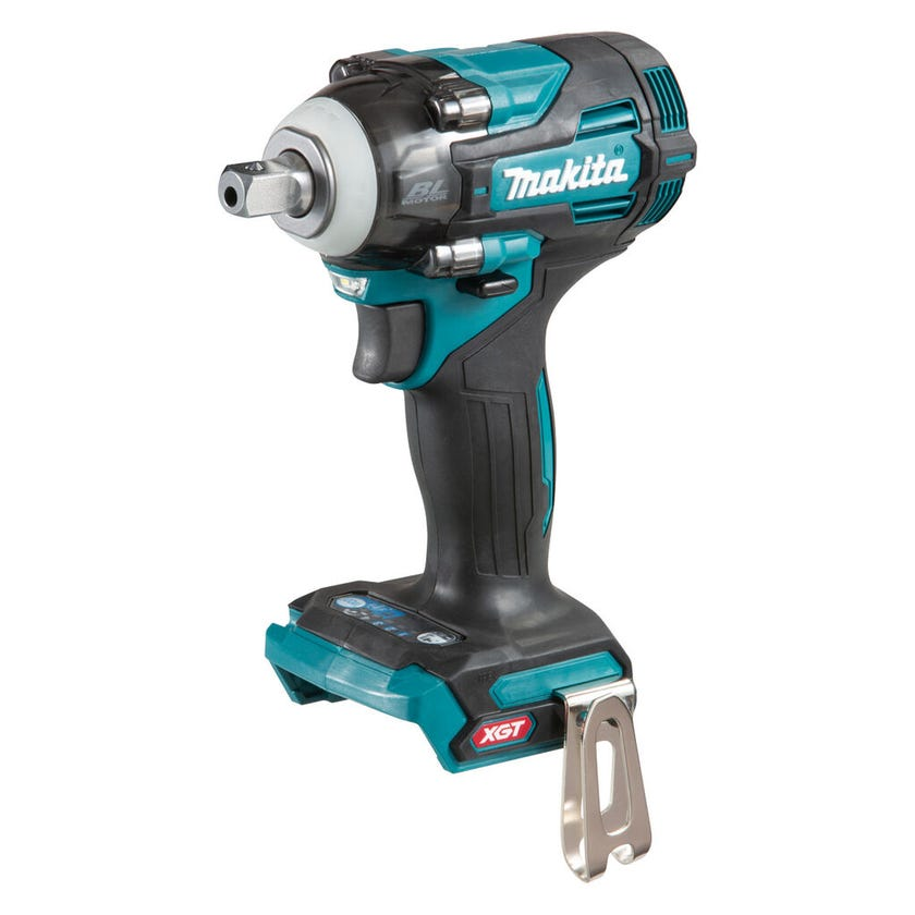 "Makita 40V Max Brushless 1/2"" Pin Detent Impact Wrench Skin TW005GZ"