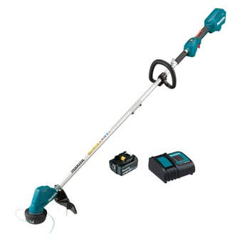 Makita 18V Brushless 1 x 5.0Ah Loop Handle Line Trimmer Kit 300mm DUR192LST