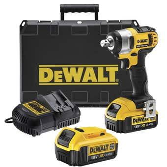 DeWALT 18V 4.0Ah XR Li-Ion Impact Wrench Kit DCF880M2-XE