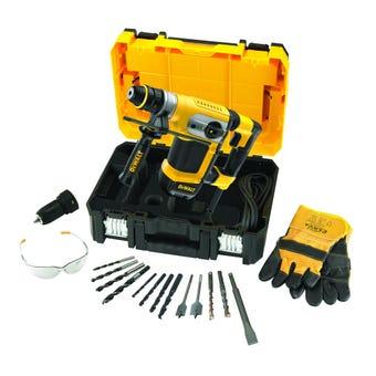 DeWALT1000W Rotary Hammer SDS plus 32mm with QCC