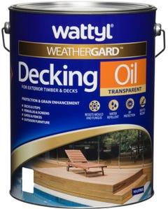 Wattyl Weathergard Decking Oil 10L Jarrah