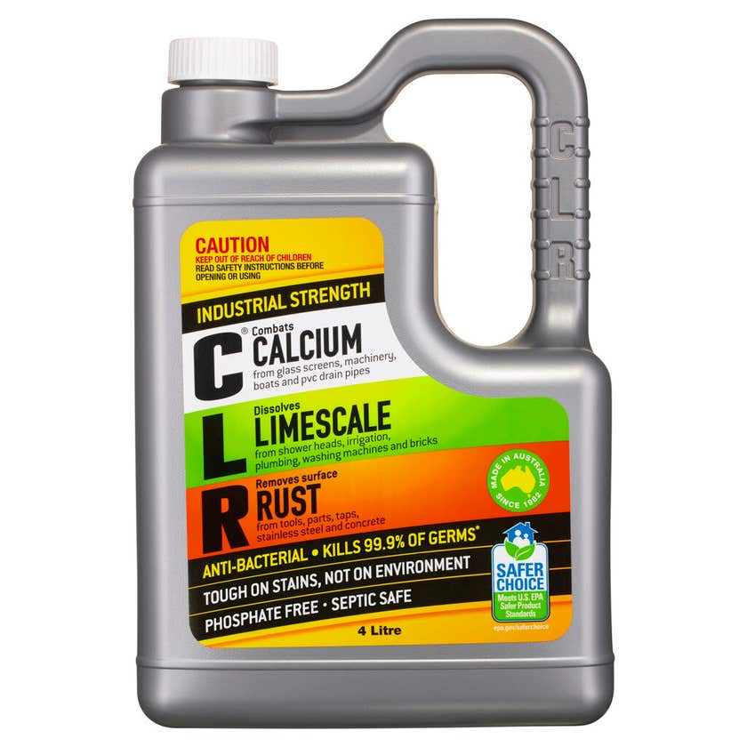 CLR Calcium Lime and Rust Remover 4L