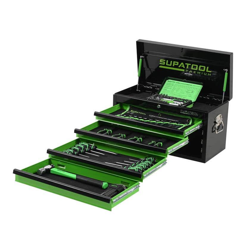 Supatool Premium Chest Kit - 92 Piece
