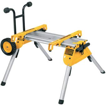 DeWALT Industrial Universal Table Saw Stand with Wheels