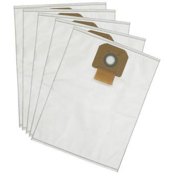 DeWALT Fleece Vacuum Dust Bag - 5 Pack