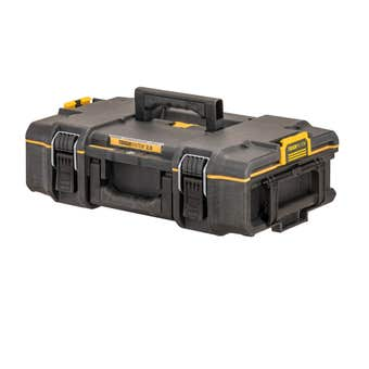 DeWALT TOUGHSYSTEM 2.0 DS166 Small Stackable Storage Tool Box