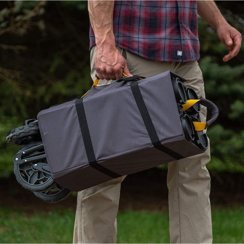 Gorilla Carts Collapsible Folding Outdoor Utility Wagon