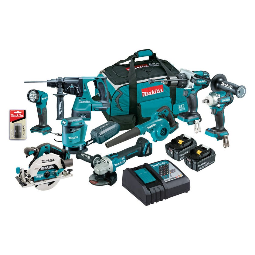 Makita 18V Brushless Combo Kit - 8 Piece