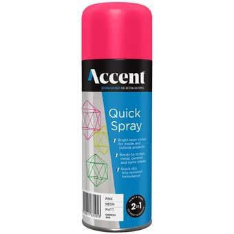 Accent Quickspray Neon Pink 300g