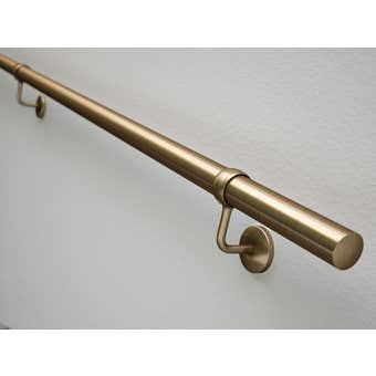 Rothley Handrail Kit Antique Brass